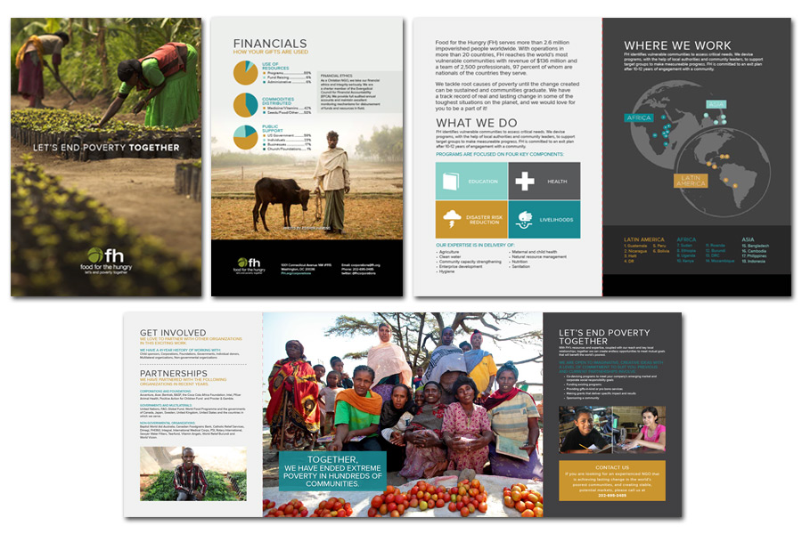 Food for the Hungry Corporations Brochure